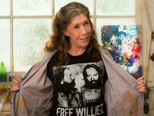 """Lily Tomlin in the Netflix series, """"Grace and Frankie"""""""