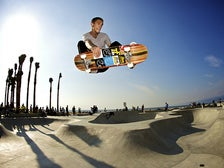 Frontside Air at Venice Beach Skatepark