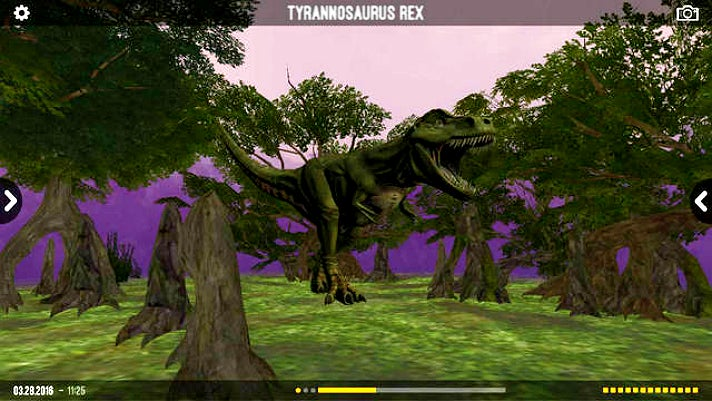"""Dinosaurs: Unextinct"" Augmented Reality"