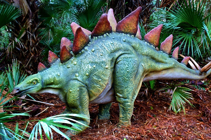 "Stegosaurus from ""Dinosaurs: Unextinct at the L.A. Zoo"""
