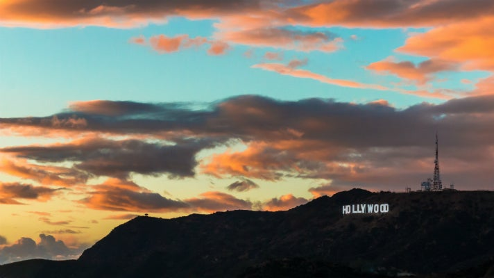 Hollywood Sign viewed from Griffith Observatory