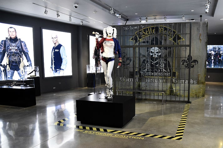 """Harley Quinn from """"Suicide Squad"""" at Warner Bros. Studio Tour Hollywood"""