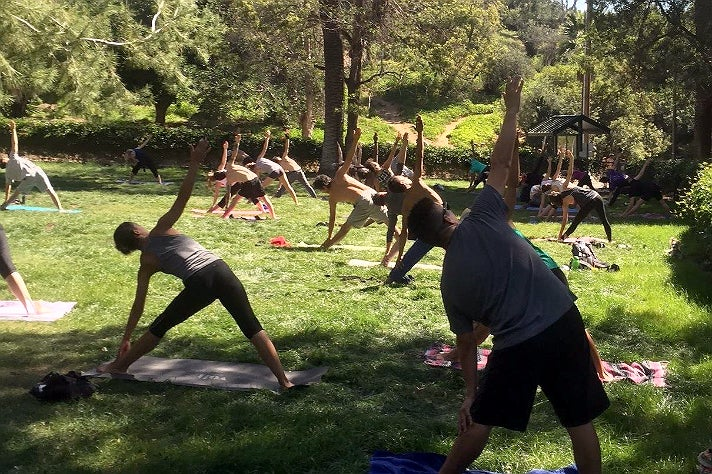 Runyon Canyon Yoga