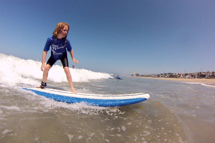 Campsurf in Manhattan Beach