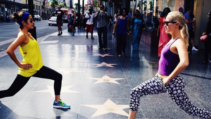 ClassPass on Hollywood Boulevard