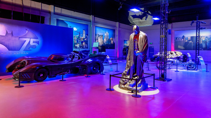 Warner Bros. Studio Picture Car Vault