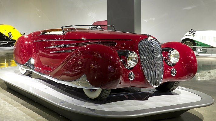 1939 Delahaye Type 165 at Petersen Automotive Museum