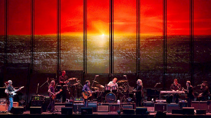 The Eagles perform at The Forum on Grand Reopening Night