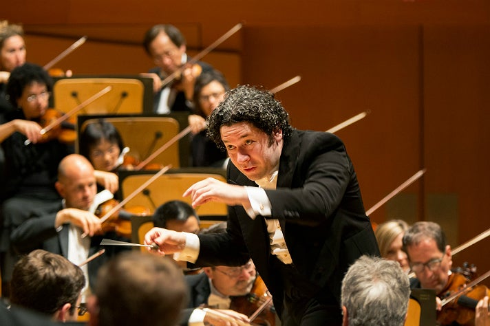 Gustavo Dudamel conducts the LA Phil at Walt Disney Concert Hall