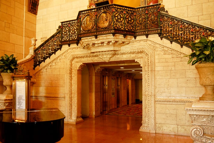 Elevators at Millennium Biltmore Hotel