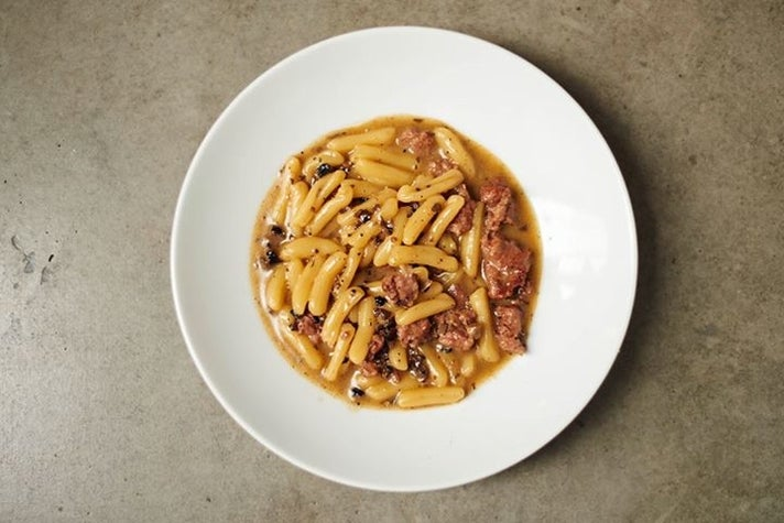 Cavatelli alla Norcina at Bestia