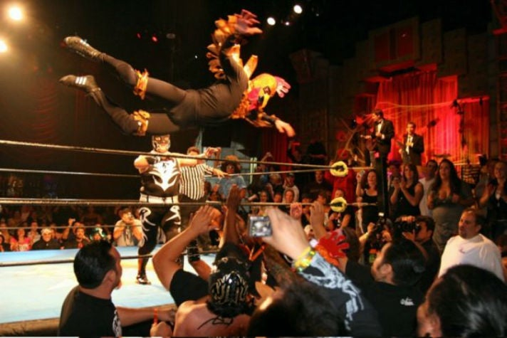 Lucha VaVOOM at The Mayan