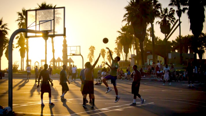 Venice Beach Basketball