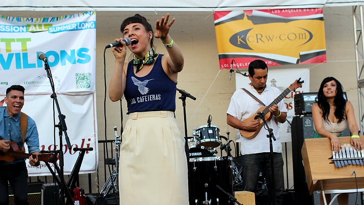 Las Cafeteras at Make Music Pasadena