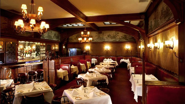 The New Room at Musso & Frank Grill