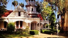 Queen Anne Cottage at the LA County Arboretum