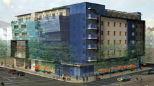 Rendering of Hampton Inn & Suites Santa Monica