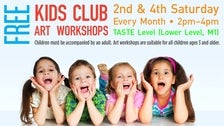 Kids Club Arts & Crafts at FIGat7th