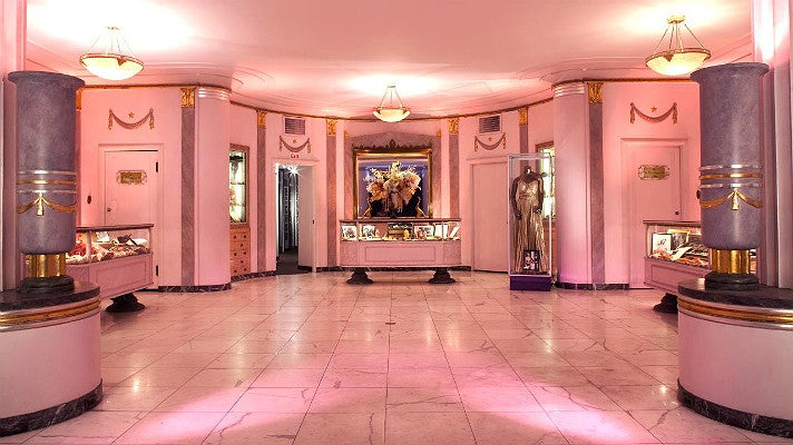 Hollywood Museum lobby