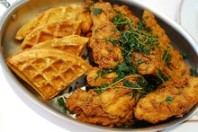 Bouchon Fried Chicken and Waffles