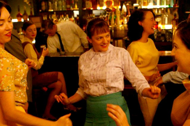"Peggy at P.J. Clarke's from ""Mad Men"" Season One"