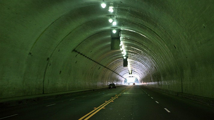 2nd Street Tunnel in Downtown L.A.