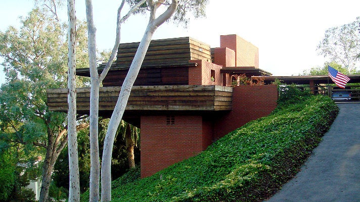 George Sturges House by Frank Lloyd Wright