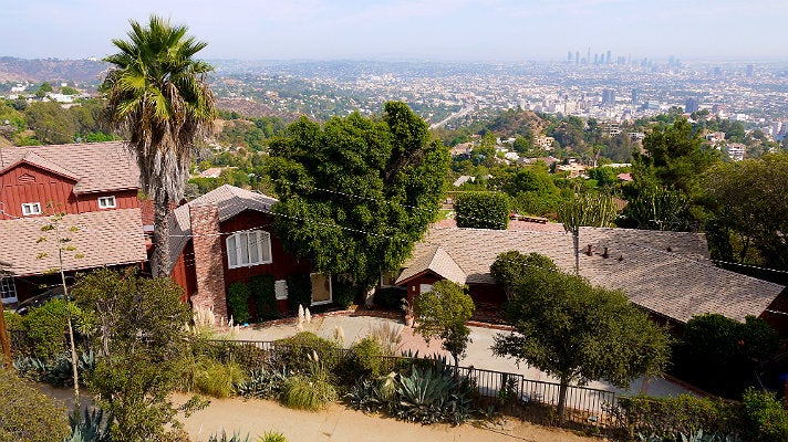 "Runyon Canyon house from ""Scream 3"""