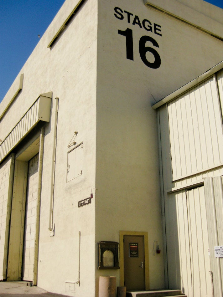 Stage 16 at Paramount Pictures