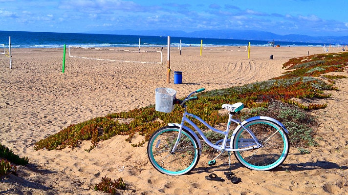 Biking The Strand in Manhattan Beach