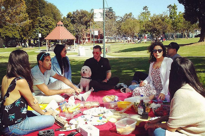 Picnic at Polliwog Park