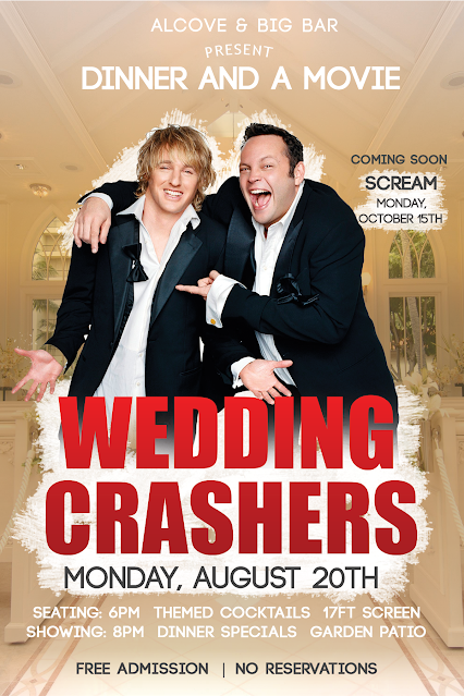 """Wedding Crashers"" at Big Bar"